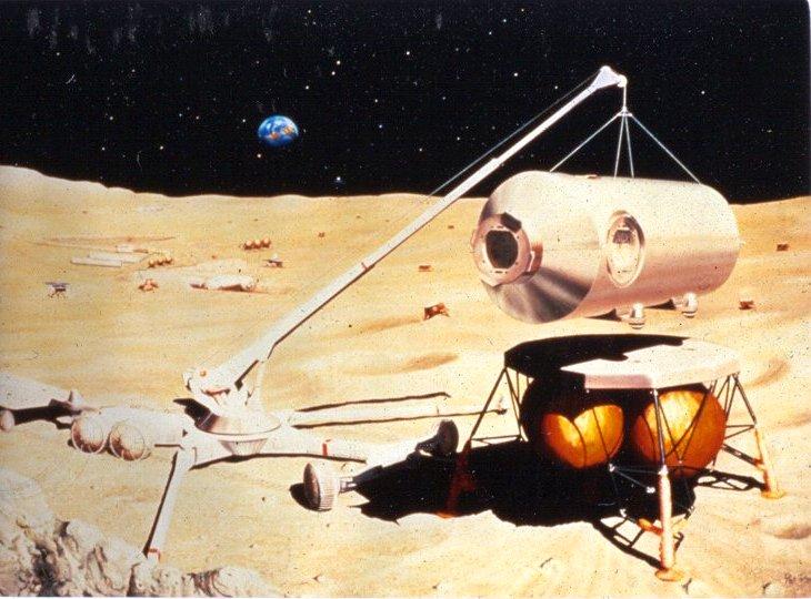 lander module