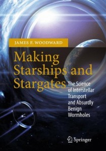 Prof. Jim Woodward has donated major royalties from his new book to kick start SSI's Exotic Propulsion Initiative