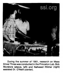 Space Studies Institute 1982 Q2 Newsletter image Mass Driver 3