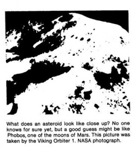 SSI Newsletter Q2 1982 image for Guest Column.  Imges source NASA, text SSI