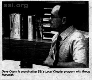Space Studies Institute   Newsletter 1982 Q3 Dave Odom