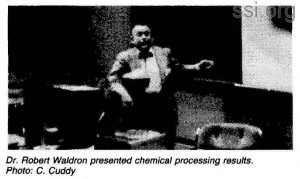 Space Studies Institute Newsletter 1983 Q3 image 8 Robert Waldron