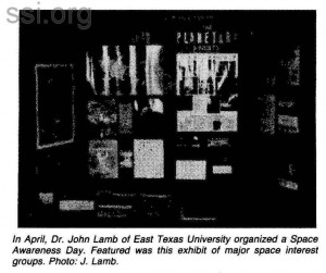Space Studies Institute Newsletter 1983 Q3