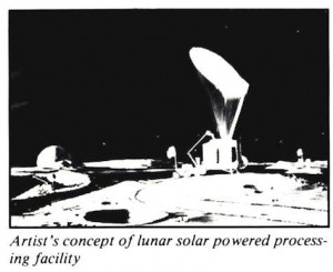 Space Studies Institute Newsletter 1989 MayJune image lunar