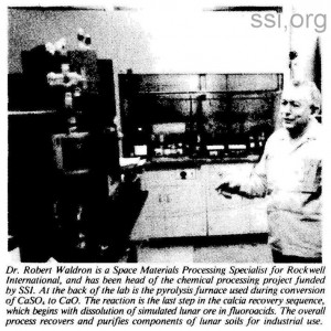 Space Studies Institute Newsletter 1984 MarApr image 6 cp 1