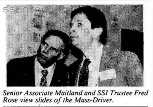 Space Studies Institute Newsletter 1985 JanFeb mass driver image 5