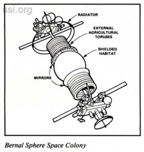 Space Studies Institute  Newsletter 1986 JanFeb image 1 Bernal