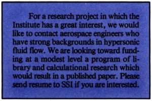 Space Studies Institute Newsletter 1987 May June image 11