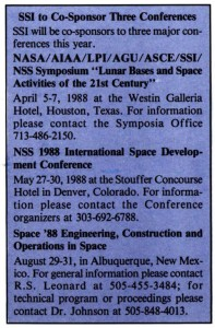Space Studies Institute Newsletter 1988 MarApr image 7
