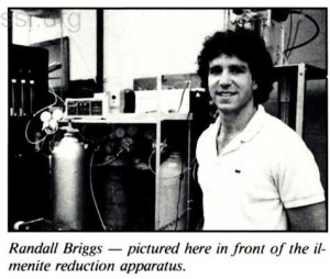 Space Studies Institute Newsletter 1988 NovDec image 2
