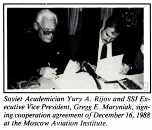 Space Studies Institute  Newsletter 1989 JanFeb image 1