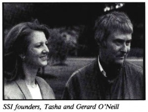 Space Studies Institute Newsletter 1989 July August Gerard & Tashi O'Nei