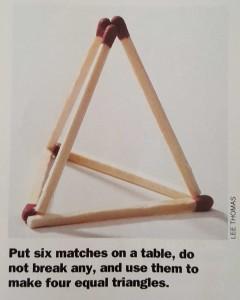 GKON Matches Puzzle