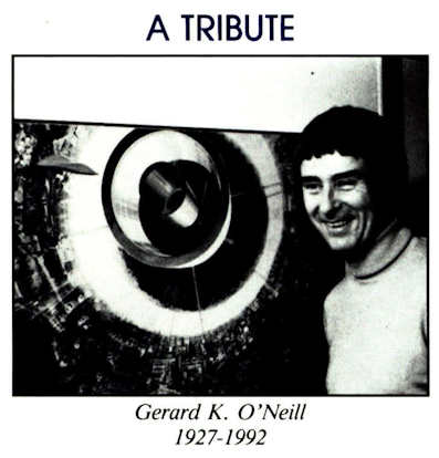 Space Studies Institute Newsletter 1992 MayJun image 1 Gerard K O'Neill tribute