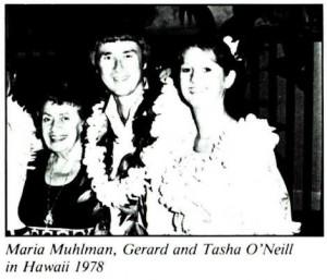 Gerard K. O'Neill and Tasha O'Neill 1978