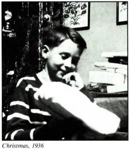 Gerard K. O'Neill Christmas 1936