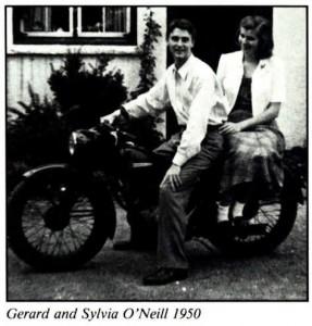 Gerard K. O'Neill and Sylvia O'Neill 1950