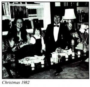Gerard K. O'Neill and Tasha O'Neill Christmas 1982