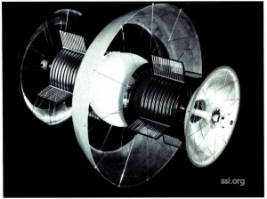 Space Studies Institute Newsletter 1992 NovDec image 9 Beranal Sphere model