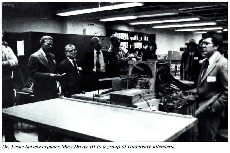 Space Studies Institute Newsletter 1995 Q4 image 10 Mass driver