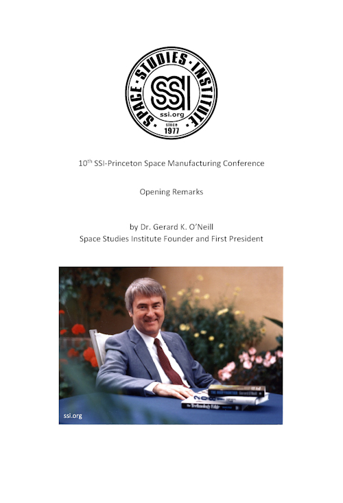 SSI 10th Conference Remarks Document Cover