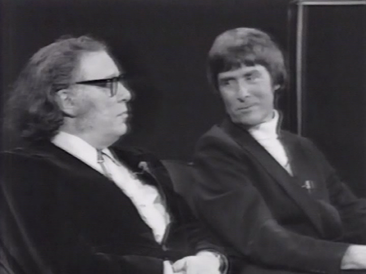 Isaac Asimov and Gerard K. O'Neill on WNET Round Table